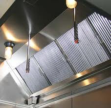 clean kitchen canopy and filters